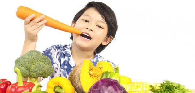 صورة أطعمه تزيد من ذكاء الطفل