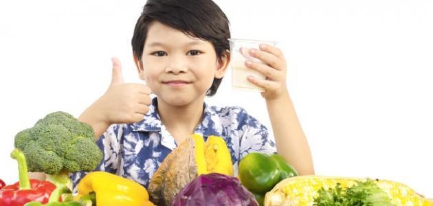 صورة أطعمة تزيد ذكاء الأطفال