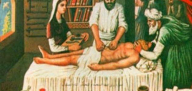 صورة من أول جراح في العالم