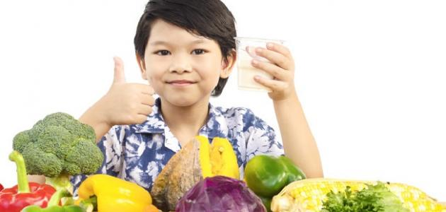 صورة أطعمة تزيد ذكاء الطفل