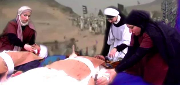 صورة من أول طبيب فى الإسلام