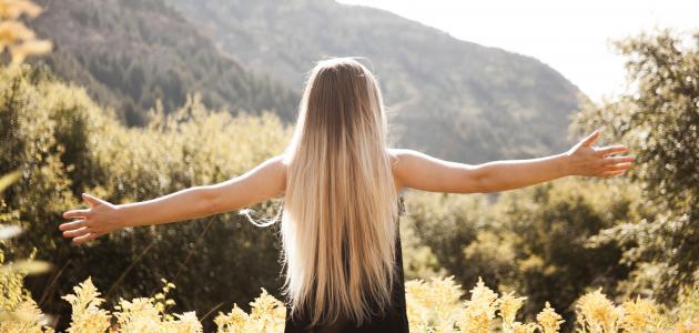 صورة كيفية جعل الشعر كثيفاً وطويلاً