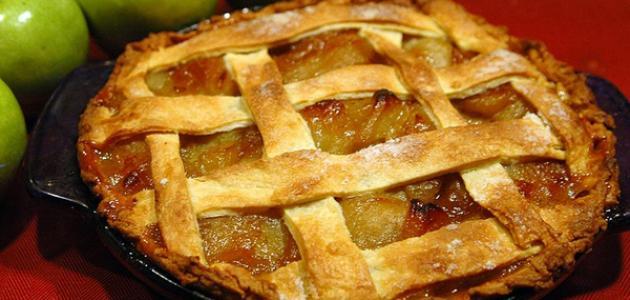 صورة طريقة عمل تارت التفاح