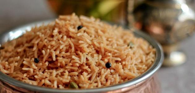 صورة عمل الأرز المبهر