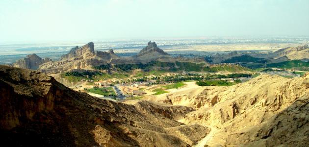صورة أين يقع جبل حفيت