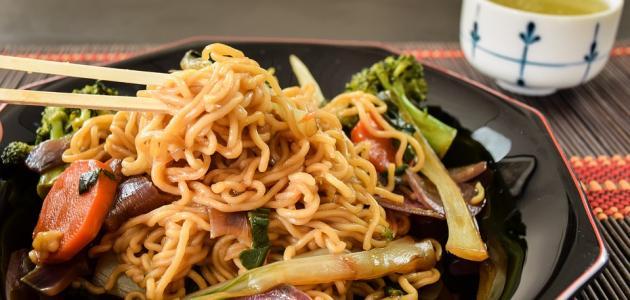 صورة أكل ياباني سريع التحضير