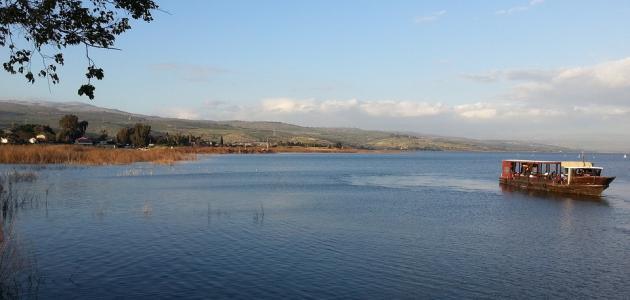 صورة أهمية بحيرة طبريا