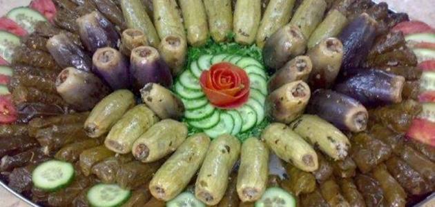 صورة طريقة تحضير أكلات شعبية سورية