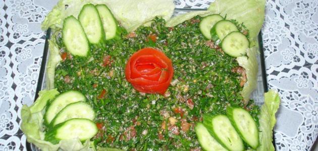 صورة أشهر الأكلات السورية