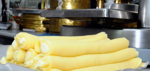 صورة كيفية صنع حلاوة الجبن الحمصية