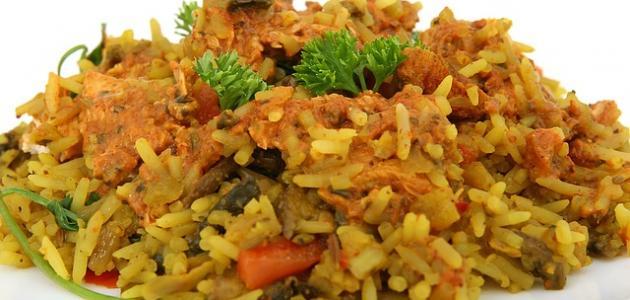 صورة أكل هندي مشهور
