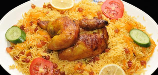 صورة طريقة طبخ مجبوس الدجاج