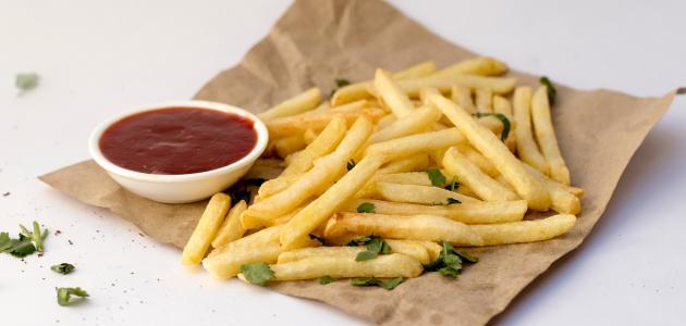 صورة أطباق البطاطا المقلية