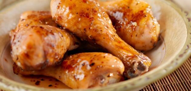 صورة طريقة أفخاذ الدجاج بالعجين