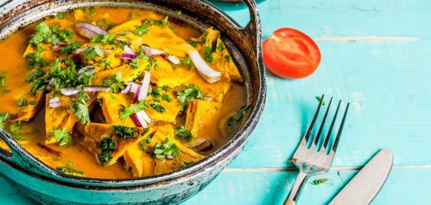 صورة أكل هندي حار