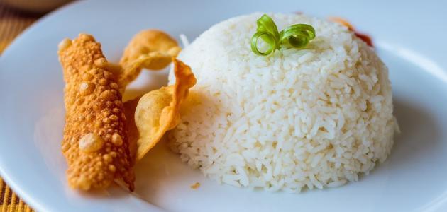 صورة طريقة عمل صينية الأرز بالقشطة