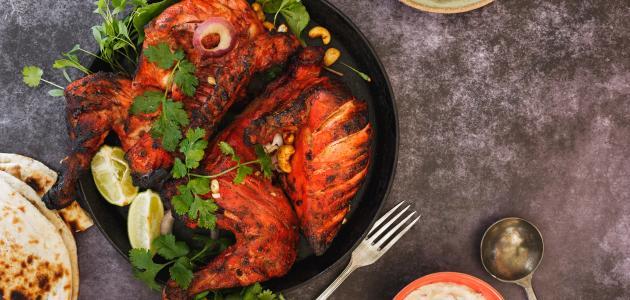 صورة طريقة دجاج التندوري