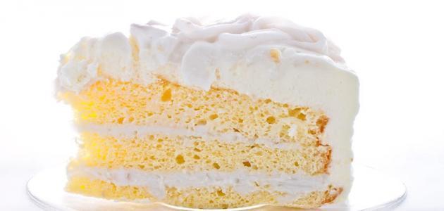صورة أسهل طريقة لعمل الكيكة الاسفنجية