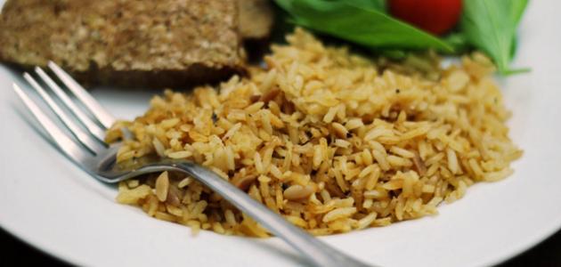 صورة طريقة عمل الأرز المتبل