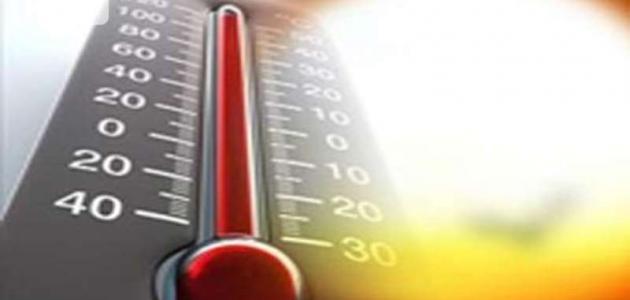 صورة قياس درجة الحرارة الجو