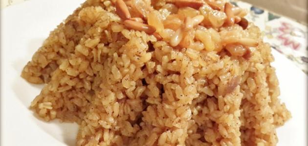 صورة عمل أرز بالخلطة