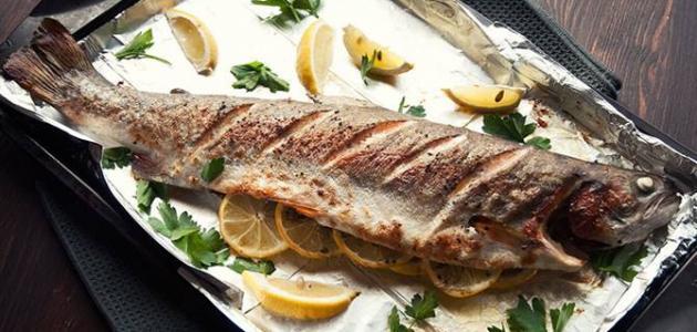 صورة طريقة عمل صينية سمك قاروص