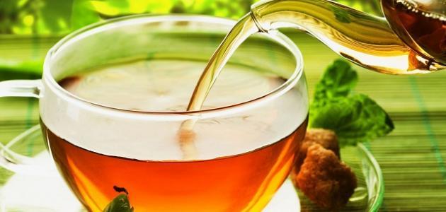 صورة فوائد الشاي الأخضر والزنجبيل