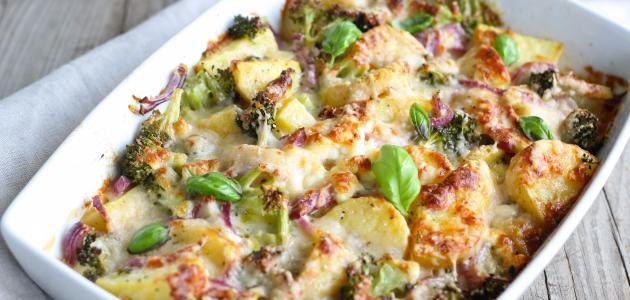 صورة أكلات بطاطس بالفرن