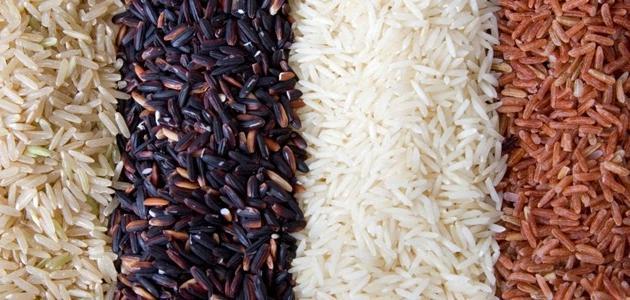 صورة أنواع الأرز المطبوخ