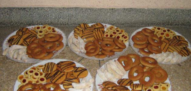 صورة حلويات العيد بسيطة وسهلة