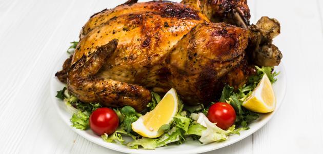 صورة طريقة صنع الثوم للدجاج