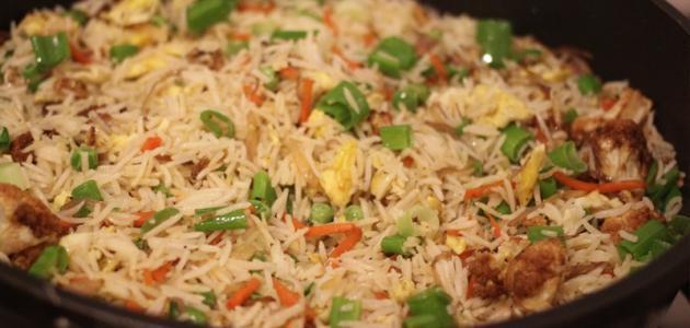 صورة طريقة الأرز الصيني