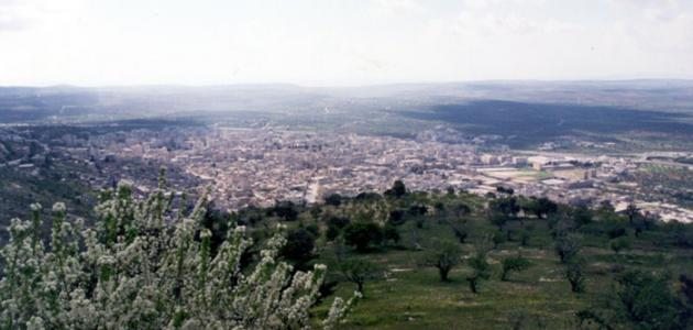 صورة مدينة إدلب السورية