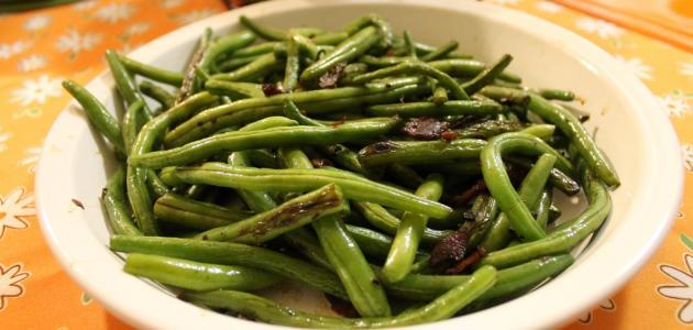 صورة أطباق اللوبيا الخضراء