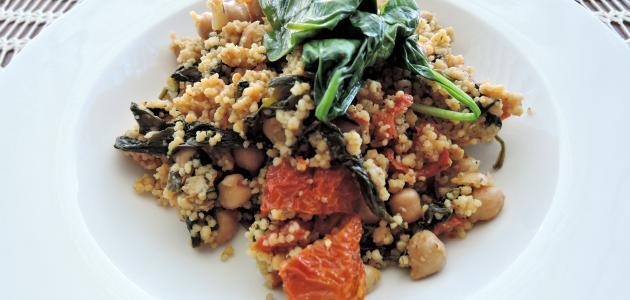 صورة طريقة تحضير أطباق جزائرية تقليدية