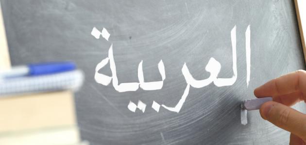 صورة تعليم اللغة العربية للمبتدئين