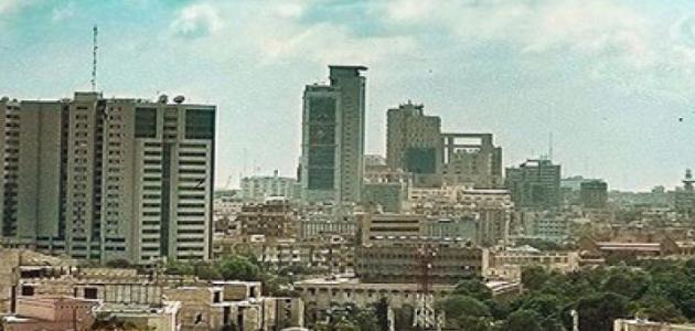 صورة أين تقع مدينة كراتشي