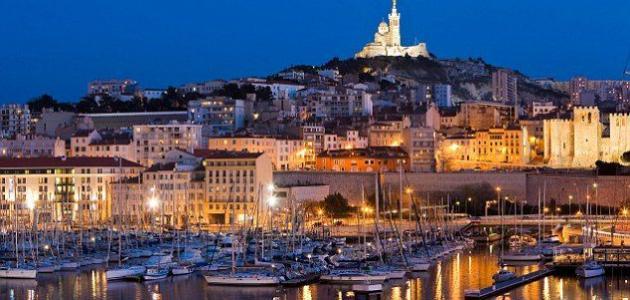 صورة مدينة مرسيليا الفرنسية