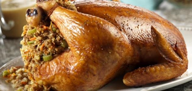 صورة طريقة عمل دجاج محشي بالفريكة