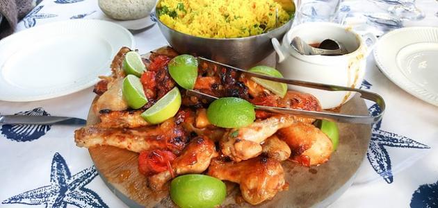 صورة أكلات مغربية بالدجاج