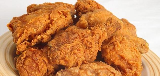 صورة طريقة قلي الدجاج المقرمش