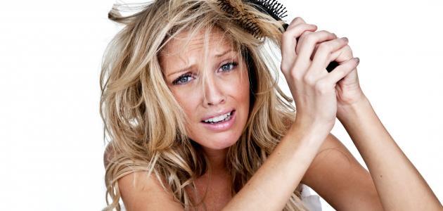 صورة أضرار علاج الشعر بالكولاجين