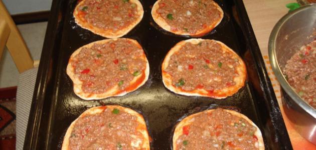 صورة كيفية عمل لحم بعجين