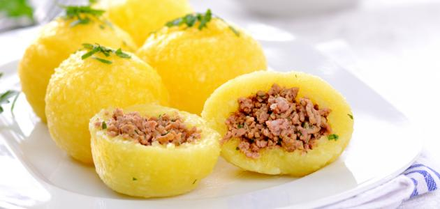صورة كيفية عمل كبة البطاطا العراقية