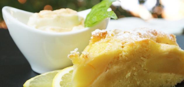 صورة كيكة الليمون الهشة