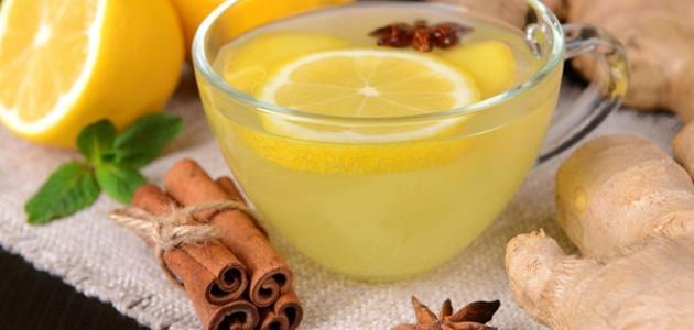 صورة فوائد الزنجبيل مع الشاي الأخضر للتنحيف