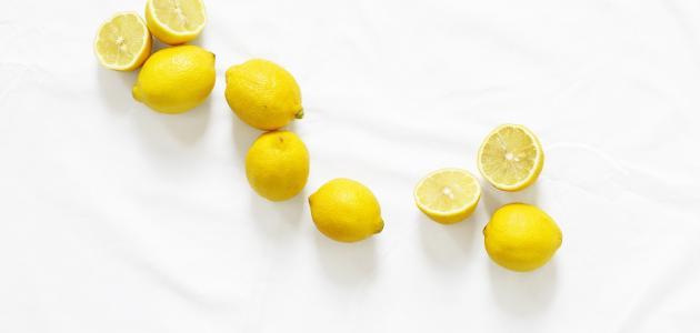 صورة الليمون للتخلص من الكرش