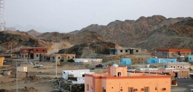 صورة أين تقع قرية بارق
