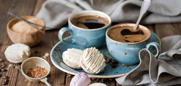 صورة حلى قهوة فخم وغريب