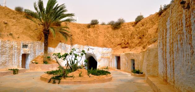 صورة مدينة مطماطة في تونس